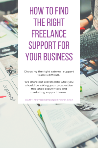 How to find the right freelance support for your business