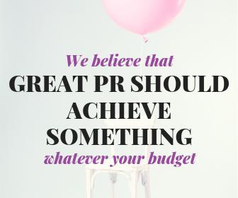 reat PR needs to achieve something