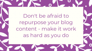 How to have a hard working blog - tip #3