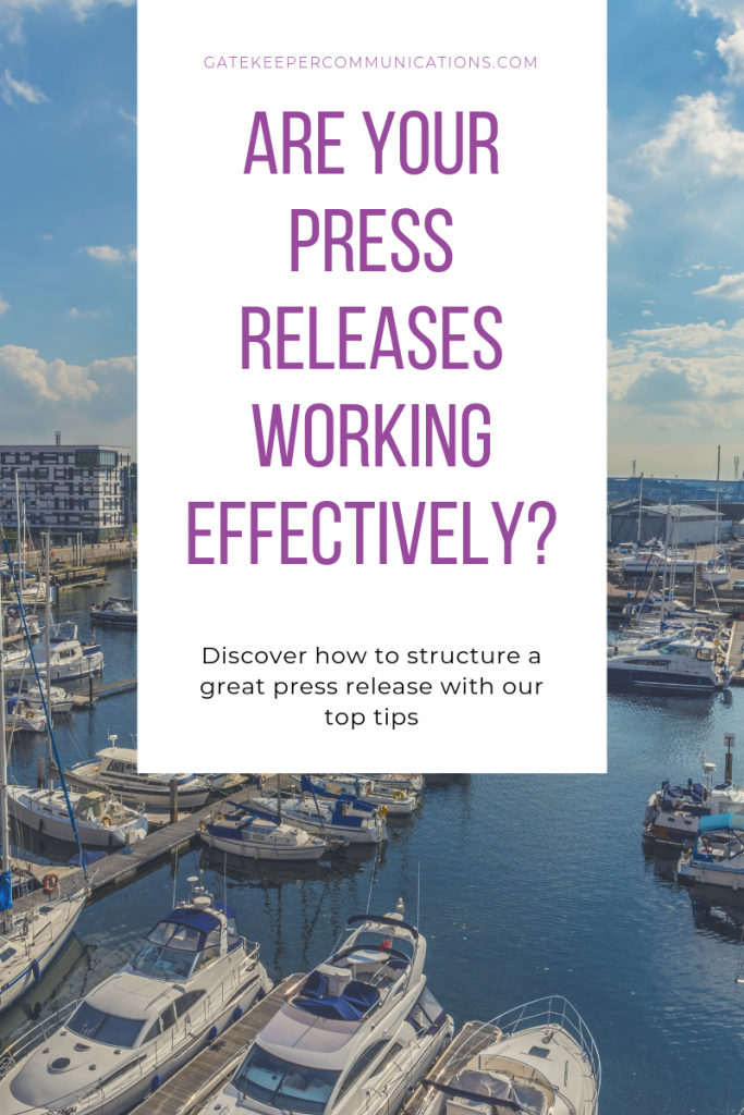 Discover how to write a great press release with Gatekeeper Communications