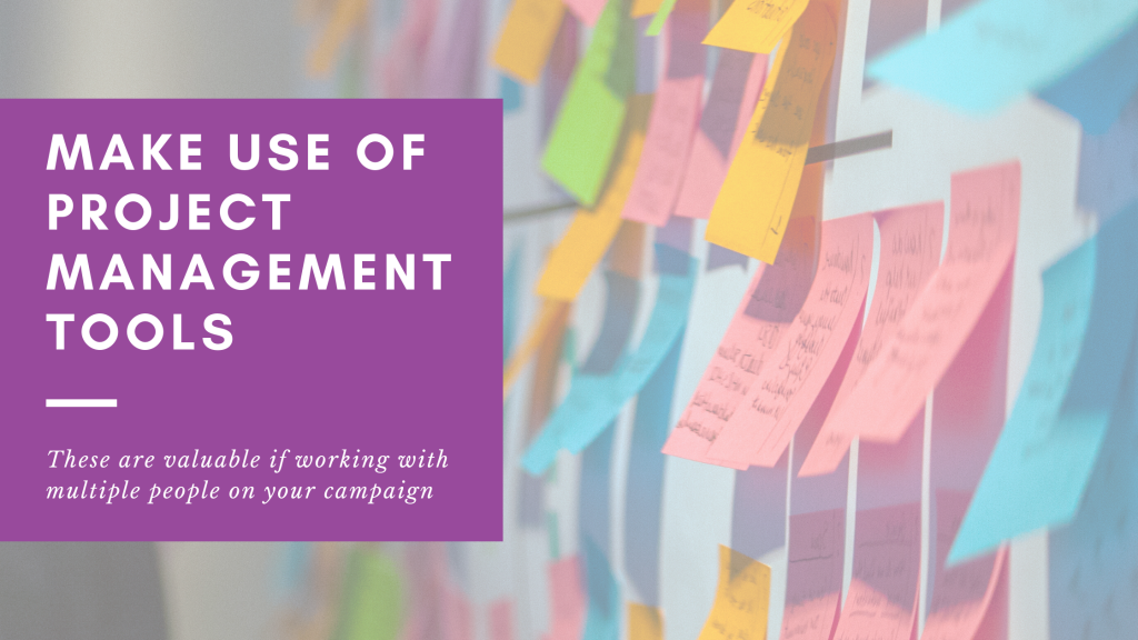 Gatekeeper Communications in Ipswich have a blog which talks about the project management tools that can help you to improve your marketing and PR campaigns